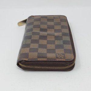 Louis Vuitton Bags - Auth Louis Vuitton Zippy Damier Ebene Wallet